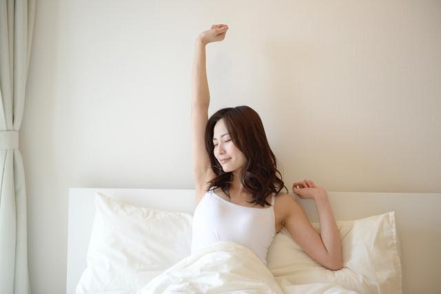 寝起きスッキリ