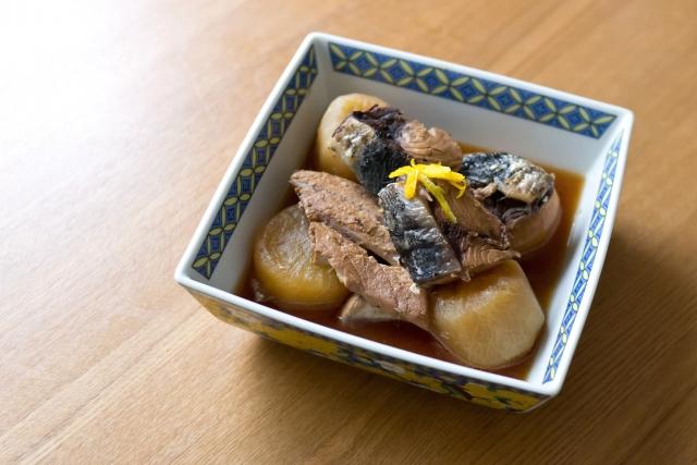 大根と青魚の煮物
