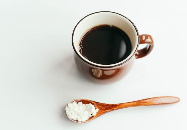 コーヒーとおからパウダー